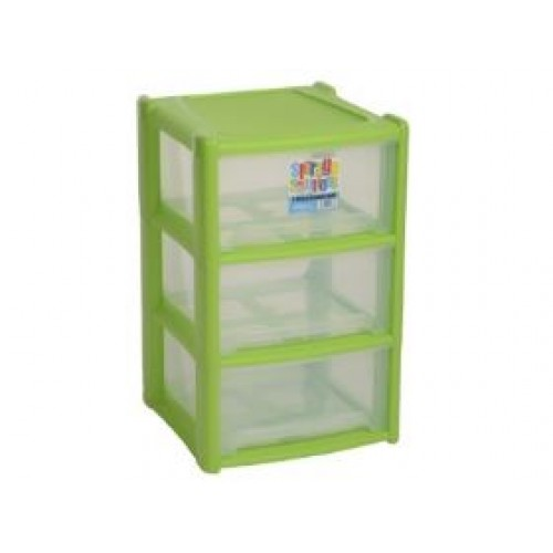 Home Plastic Shallow 4 Drawer