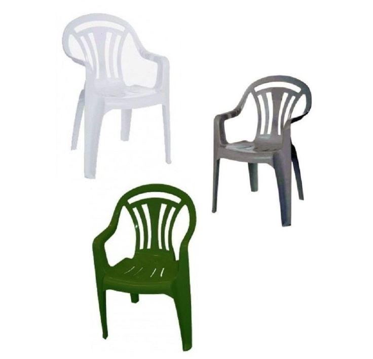 Green And White Plastic Garden Chairs Cheap Plastic Garden
